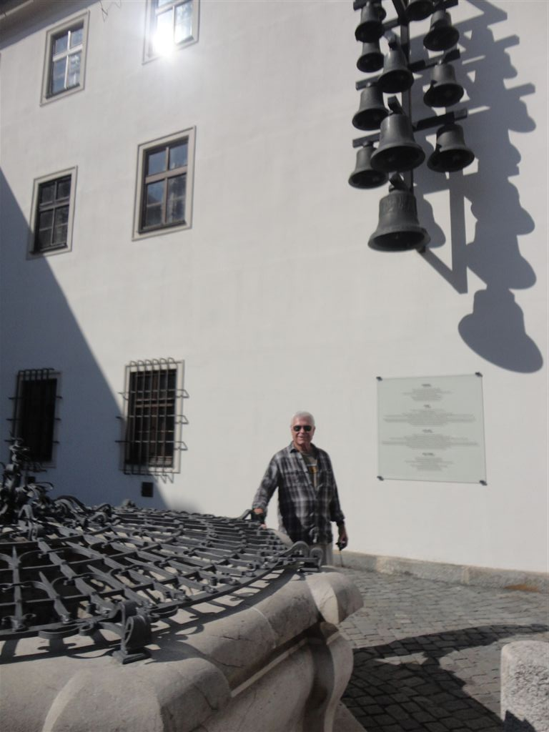 Chimes and the 112 m deep well in the Spilberk Castle yard