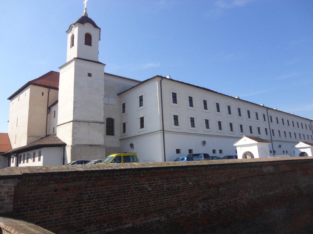 The Spilberk Castle and Fortress in Brno